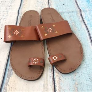 Montego Bay Club leather sandals